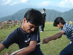 Zor Lagao!! Awesome (Ali Manzer) Tags: pakistan summer camp training relief 2008 summercamp welfare balakot alkhidmat akws