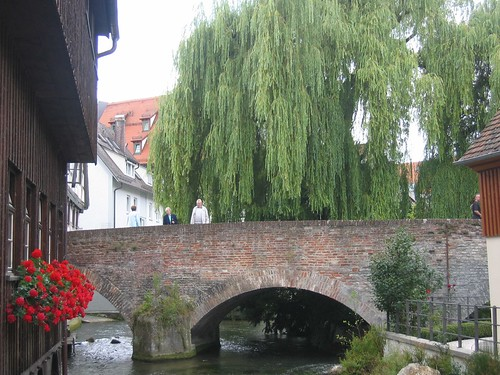 Bridge over the Klein Danube in Ulm