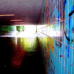 Light At The End Of The Tunnel (sara-maria) Tags: light munich tunnel unterfhrung pedestrianunderpass