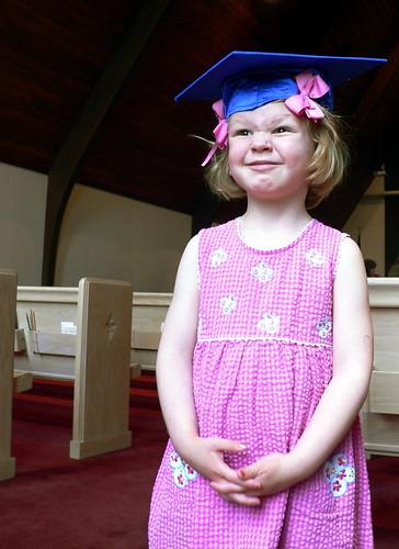 frankie is a graduation girl