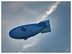 Smurf's zeppelin