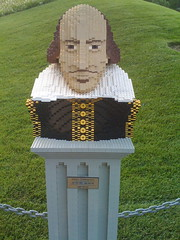 Lego Shakespeare by ryanrocketship, on Flickr