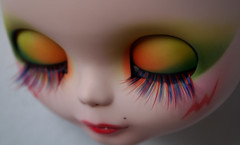 Stormer... soon (erregiro) Tags: cat eyes doll makeup can lips carve 80s ccc blythe jem custom misfits sbl stormer holograms erregiro supernenek