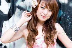 (swanky) Tags: portrait people woman cute girl beauty canon asian eos model asia pretty taiwan babe taipei wretch   2008 taiwanese 30d      twbof hanane   taiwanbloggersbof  blossom885