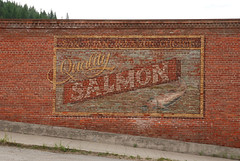 Quality Salmon (Harry2010) Tags: art bc bricks greenwood motorcycleride