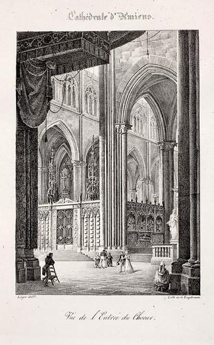 Amiens02- Vista de la entrada del coro