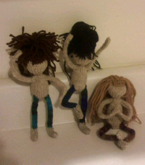 Finished fiber fairies