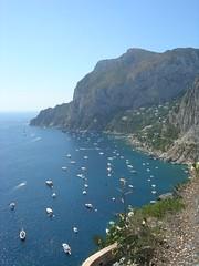 ([stardust]) Tags: summer verde capri mare estate natura barche isola