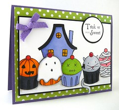 Trick or Sweet Rubber Stamps