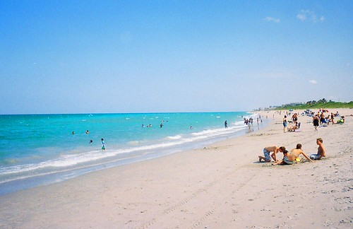 Carlin Park Jupiter Floridalooking South Towards Juno Beach A