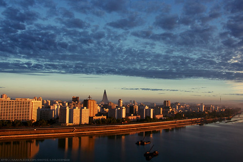 Golden Pyongyang by LOOLOO IMAGE, on Flickr