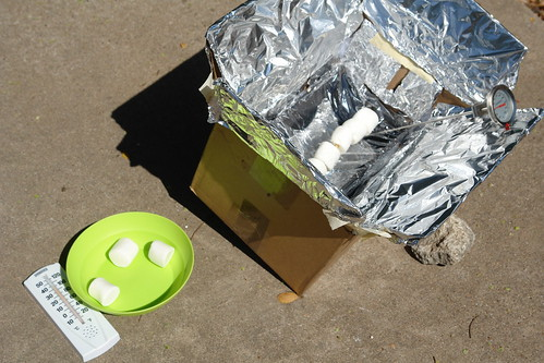 Solar Cooking Experiement