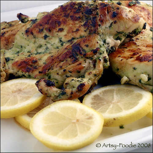 Cilantro Thai Chicken with Lemons