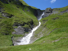 Waterfall seen on our way to Tuxerjoch-Haus