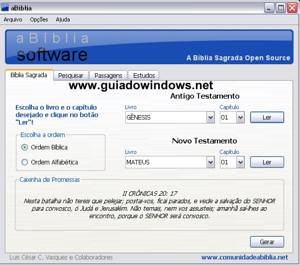 aBíblia Software