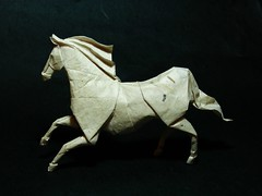 caballo (EmreAyar) Tags: horse art animal paper origami roman handmade farm riding folded papier pferd papiroflexia stallion folding equine gallop diaz romandiaz at atlar papierfalten origamiforinterpreters
