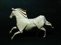 caballo (EmreAyar) Tags: horse art animal paper origami roman handmade farm riding folded papier pferd papiroflexia stallion folding equine gallop diaz romandiaz at atlar papierfalten origamiforinterpreters