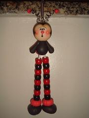 Joaninha (Alane • maria julia biscuit) Tags: cute cores handmade artesanato artesanal biscuit fofo cor colorido porcelana porcelanafria feitoamao