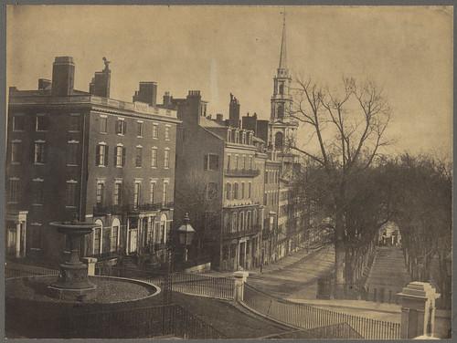Park Street, Boston, 1858