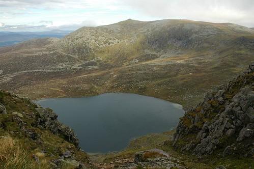 Lochnagar over Loch nan Eun