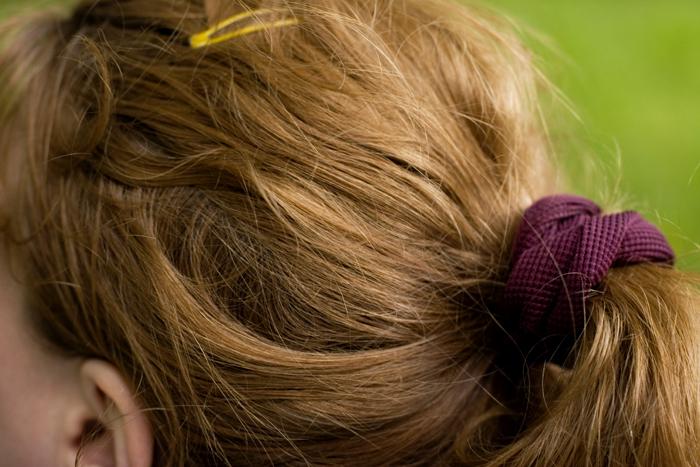ponytail!