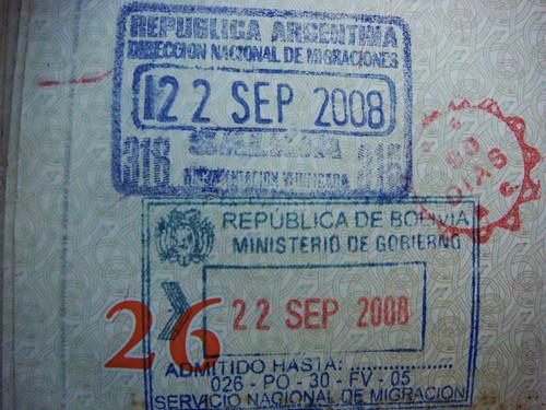 90 dias en Bolivia. Yeah!