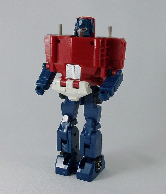 Transformers Powermaster Optimus Prime G1 - modo robot
