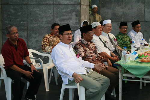 KDEI Beserta Rombongan K.H. Hasyim Muzadi