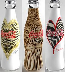 Coca Cola Roberto Cavalli (Santinha - Casas Possveis) Tags: brazil brasil casa artesanato before recycle artes decorao later reutilizar peasrecicladas cocacolacocacolaostumizadarobertovacalli sopaulo antesedepoislixo reutlizao