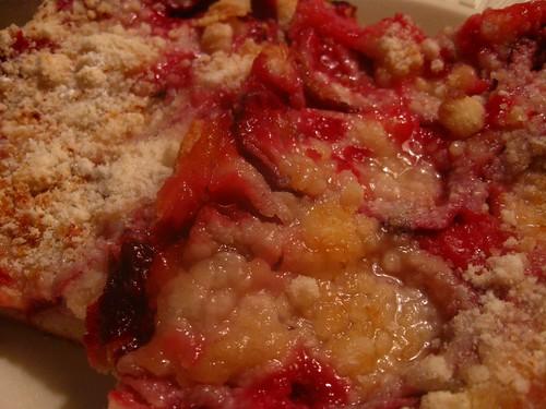 Mmm, plums meet cake