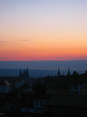 Sunrise over the Prazsk? hrad
