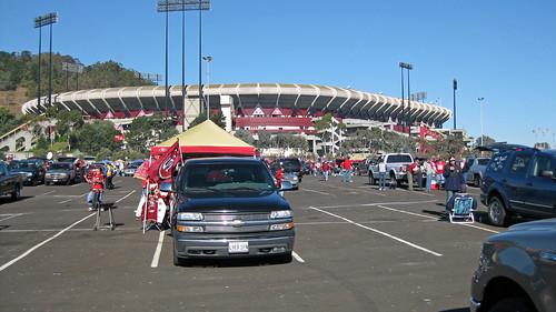 49er Game- Stadium