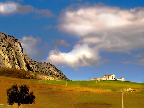 Paisaje desde el tren a algeciras (campo de antequera). Foto Flickr / R.C Pecino (licencia CC)