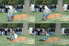 The shots ring out  and... (sirchuckles) Tags: death justice illinois war shoot farm traitor civil squad done punishment execute sentence execution minooka dollinger