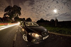 IMG_2171 (night photographer) Tags: motion blur night photography star long exposure traffic seat trails automotive leon fr