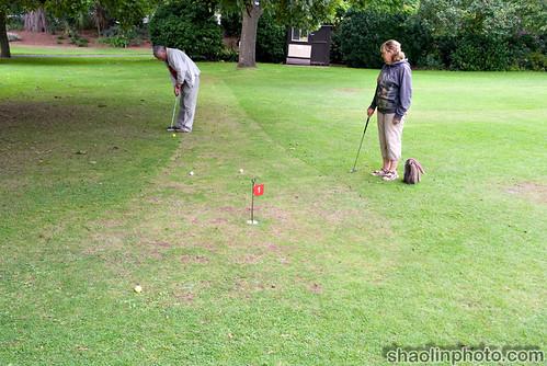 Mini Golf at Blenheim Park Minehead