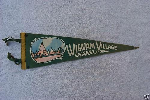 Wigwam Village #4 Orlando Pennant