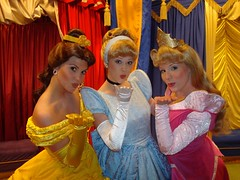 Princess Kisses (Friend of Disney) Tags: vacation orlando belle cinderella waltdisneyworld magickingdom disneyprincesses princessaurora princessbelle disneyfacecharacters disneyprincessroom princesskisses