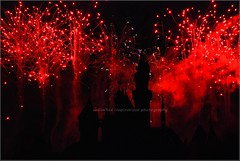 Unlimited celebrations (unlimited inspirations) Tags: world friends red party sky colour castle art love beautiful night stars fun happy lights fireworks disneyland creative disney best celebration imagination colourful sihouette hongkongdisneyland