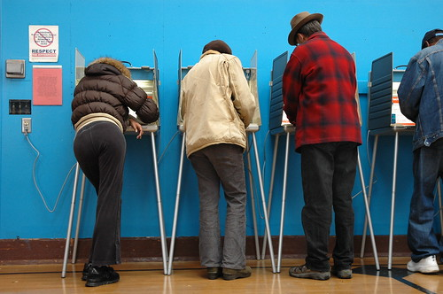The last polling stations before Washing by Columbia City Blog, on Flickr