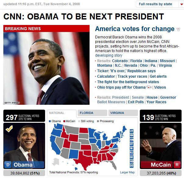 Yay, Obama