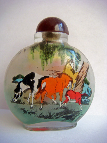 Horse in Handicraft Bottles, Handicraft Bottles