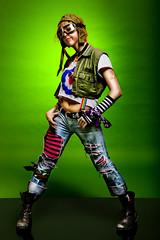 Tank Girl (Ali Brohi) Tags: portrait canon studio costume tankgirl seedingchaos citycollegeofny moazzambrohi 1dsmarkiii halloween2008 ccnyphotographyclub moazzambrohicom httpwwwmoazzambrohicom wwwmoazzambrohicom