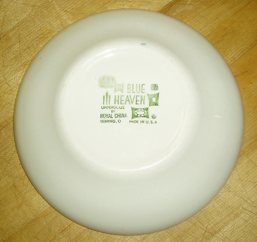 back of bowl
