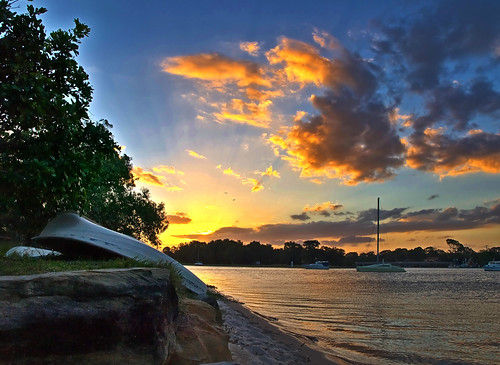 Mooloolah River Sunset by you.