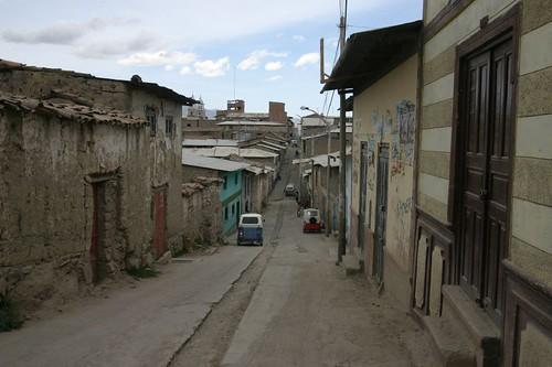 Puquio back street.