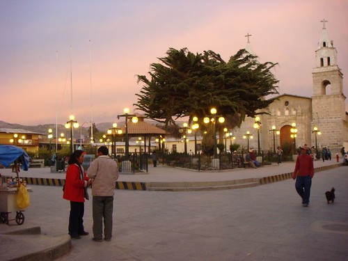 Puquio main square.