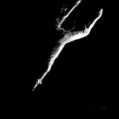 off production (Mitsus) Tags: ballet dance jump noiretblanc tanz baile taniec balet skok balo mitsus krakoff baletnica annastepska annastpska magorzataperzyska monochromeaward fotografiataca