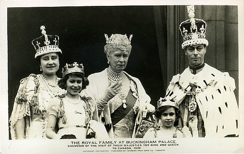 H.M. KING GEORGE VI - H.M. QUEEN ELIZABETH - H.M. QUEEN MARY ...