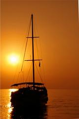 From Sun (sercani) Tags: sunset sea orange holiday turkey butterfly boat pentax trkiye valley deniz fethiye gnbatm gemi ldeniz butterflyvalley pentaxk100dsuper alemdagqualityonlyclub alemdagqualityonlyclubcommentfave2